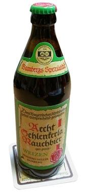 Aecht Schlenkerla Rauchbier Weizen beer Label Full Size