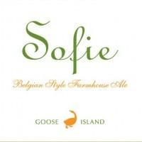 Goose Island Sofie beer Label Full Size