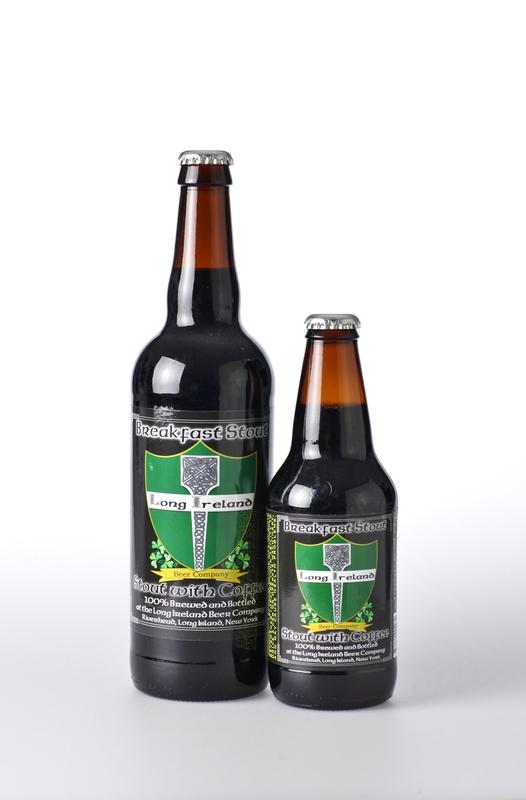 Long Ireland Whiskey Barrel Aged Breakfast Stout beer Label Full Size