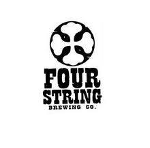 Four String Saison beer Label Full Size