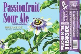 Breakside Passionfruit Sour Ale beer Label Full Size
