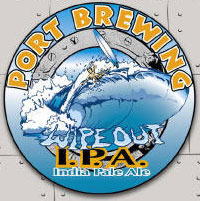 Port Wipeout IPA beer Label Full Size