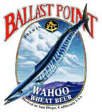 Ballast Point Wahoo White beer Label Full Size