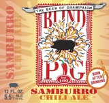 Blind Pig Samburro Chili Ale Beer