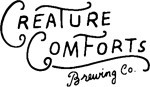 Creature Comforts Tropicalia beer Label Full Size