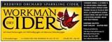 Redbyrd Workmans Dry Cider beer