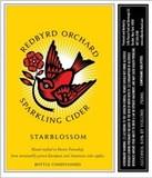 Redbyrd Starblossom Cider beer