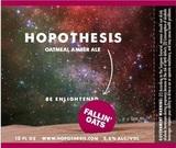 Hopothesis Oatmeal Amber beer