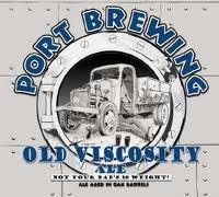 Port Old Viscosity beer Label Full Size