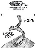 Dark Horse Fore Smoked Stout Beer