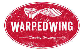 Warped Wing Mr Mean Imperial IPA beer Label Full Size