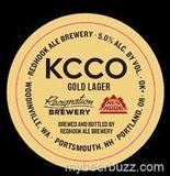 Resignation KCCO Gold Lager beer