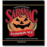 Saranac Pumpkin Ale beer Label Full Size