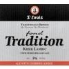 St. Louis Fond Tradition Kriek beer Label Full Size