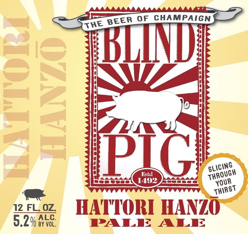 Blind Pig Hattori Hanzo Beer