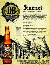 Devil's Backbone Azrael beer Label Full Size