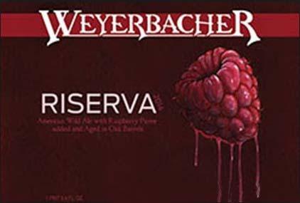 Weyerbacher Riserva beer Label Full Size