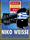 Great South Bay Niko Weisse beer