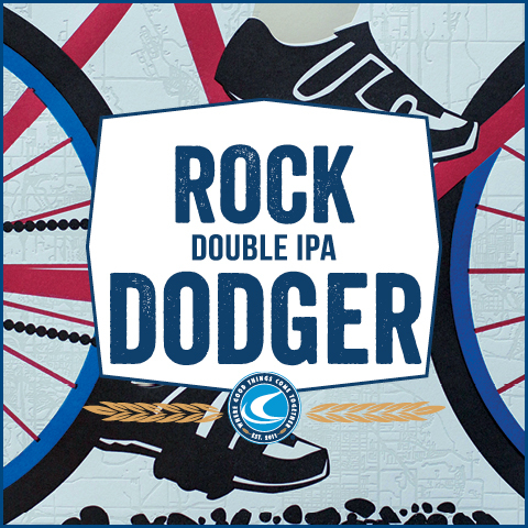 Confluence Rock Dodger Double IPA beer Label Full Size
