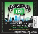 Ipswich Route 101 West Coast Style IPA beer