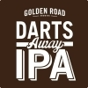 Golden Road Darts Away Double IPA beer