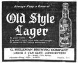 G. Heilmens Old Style Krausened Lager Beer
