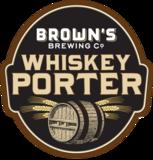 Browns Whiskey Porter beer
