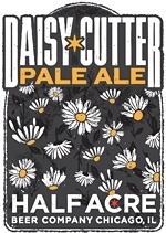 Half Acre Daisy Cutter beer Label Full Size