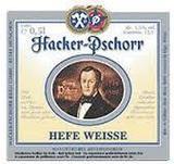 Paulaner Hacker Pschorr Hefe Weisse beer