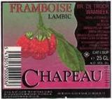 Chapeau Framboise beer