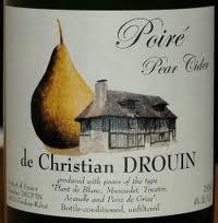 Christian Drouin Poire beer Label Full Size