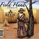 Relic Field Hand Saison Beer