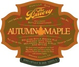 Bruery Autumn Maple beer