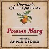 Albemarle Ciderworks Pomme Mary beer