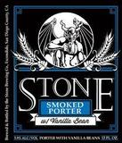 Stone Smoked Porter With Vanilla Beans beer