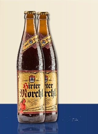 Hirter Morchl beer Label Full Size