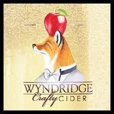 Wyndridge Farm Crafty Cranberry beer Label Full Size