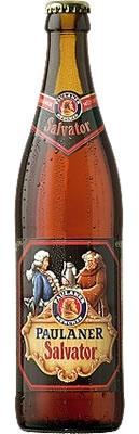 Paulaner Salvator beer Label Full Size