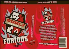 Surly Furious beer Label Full Size