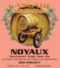 Cascade Noyaux beer Label Full Size