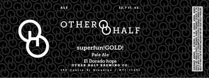 Other Half Superfun! beer Label Full Size