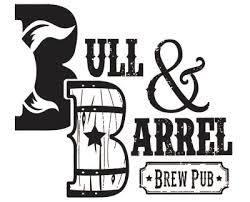Bull & Barrel Honey Blueberry beer Label Full Size