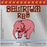 Huyghe Delirium Red beer