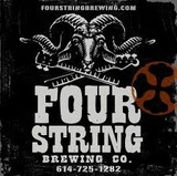Four String White IPA Infused with Pineapple beer
