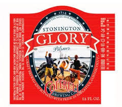 Cottrell Old Stonington Glory beer Label Full Size