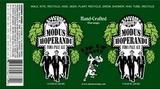 SKA Modus Hoperandi beer