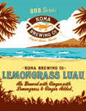 Kona Lemongrass Luau beer
