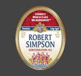 Robert Simpson Confederation Ale beer