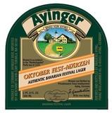 Ayinger Oktober Fest-Marzen beer