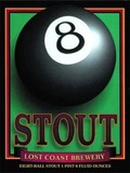 Lost Coast 8 Ball Stout beer